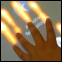 Compiz Multi-touch Plugin: Fire Paint
