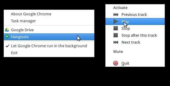 Side-by-side comparison of the GTK2 (left) and GTK 3 (right) menus with the Updated Elegant Bird Theme